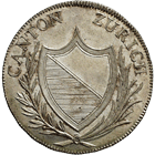 Canton of Zurich, Time of Mediation, 8 Batzen 1810 (obverse)