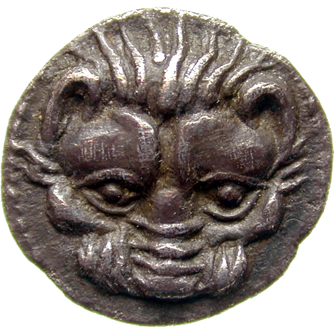 Southern Italy, Rhegion, Litra (obverse)