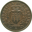 Republic of San Marino, 10 Centesimi 1935 (obverse)