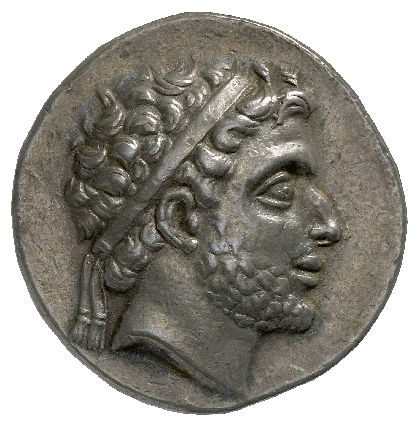 Kingdom of Macedonia, Philip V, Didrachm (obverse)