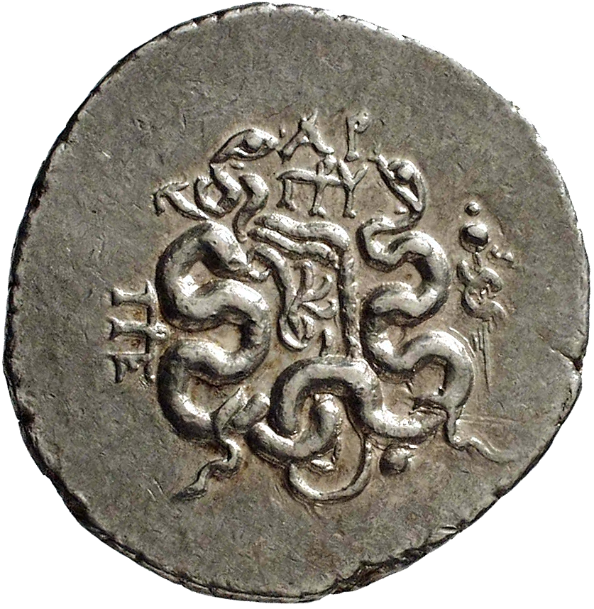 Mysia, Kingdom of Pergamum, Cistophor (reverse)