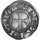 Commune of Arezzo, Grosso of 6 Denarii (obverse)