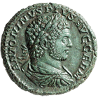 Roman Empire, Caracalla, As (obverse)