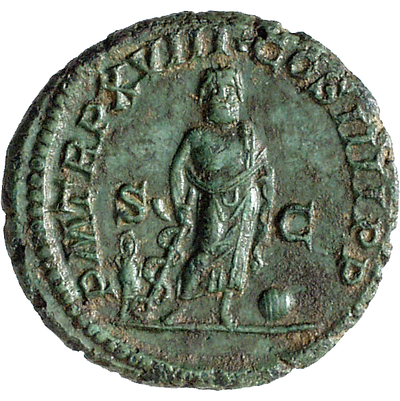 Roman Empire, Caracalla, As (reverse)