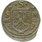 Holy Roman Empire, Free City of Schweinfurt, Kipper-Körtling 1622 (obverse)