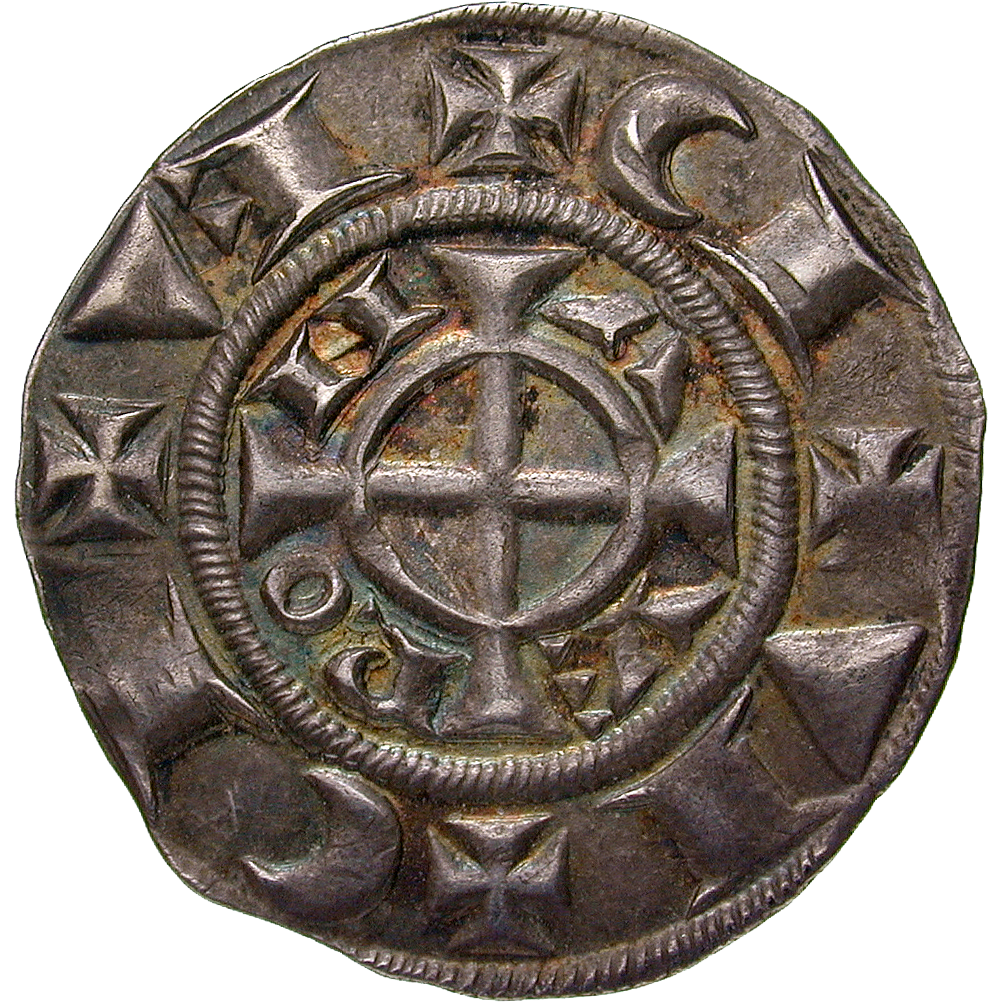 Holy Roman Empire, Republic of Verona, Grosso worth 20 Denarii (obverse)