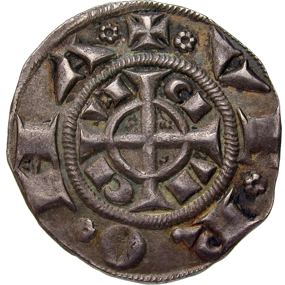 Holy Roman Empire, Republic of Verona, Grosso worth 20 Denarii (reverse)