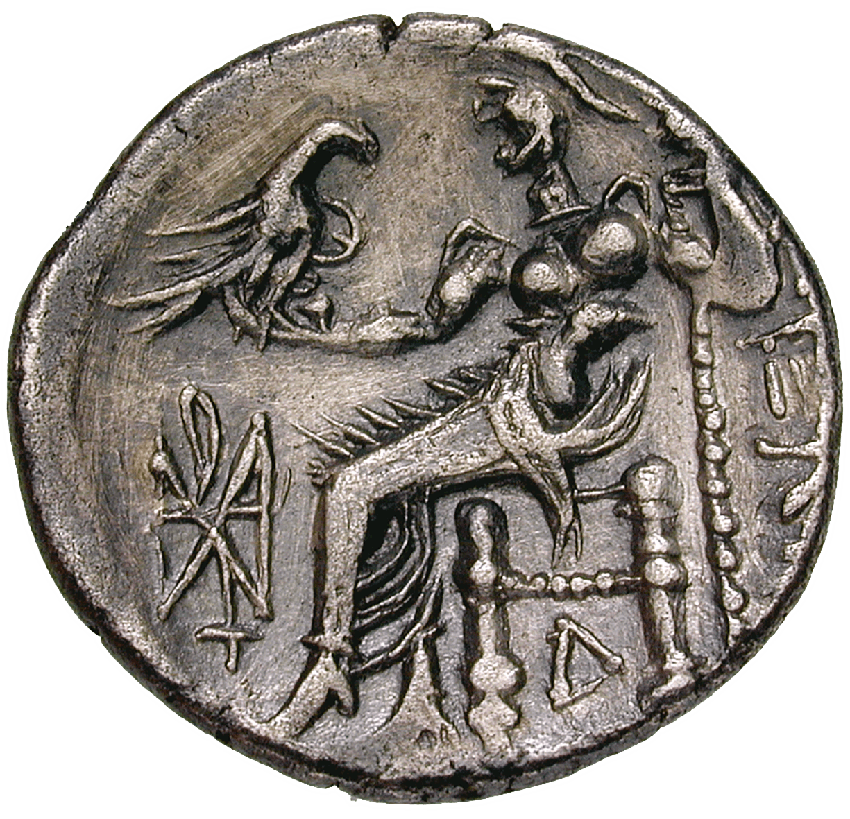 Thracia, Middle or Lower Danube Region, Drachm (reverse)