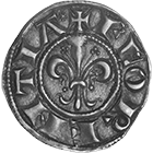 Holy Roman Empire, Republic of Florence, Fiorino d'Argento (Grosso) (obverse)
