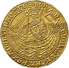 Kingdom of England, Henry VI, Noble (obverse)