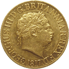 United Kingdom, George III, Sovereign 1817 (obverse)