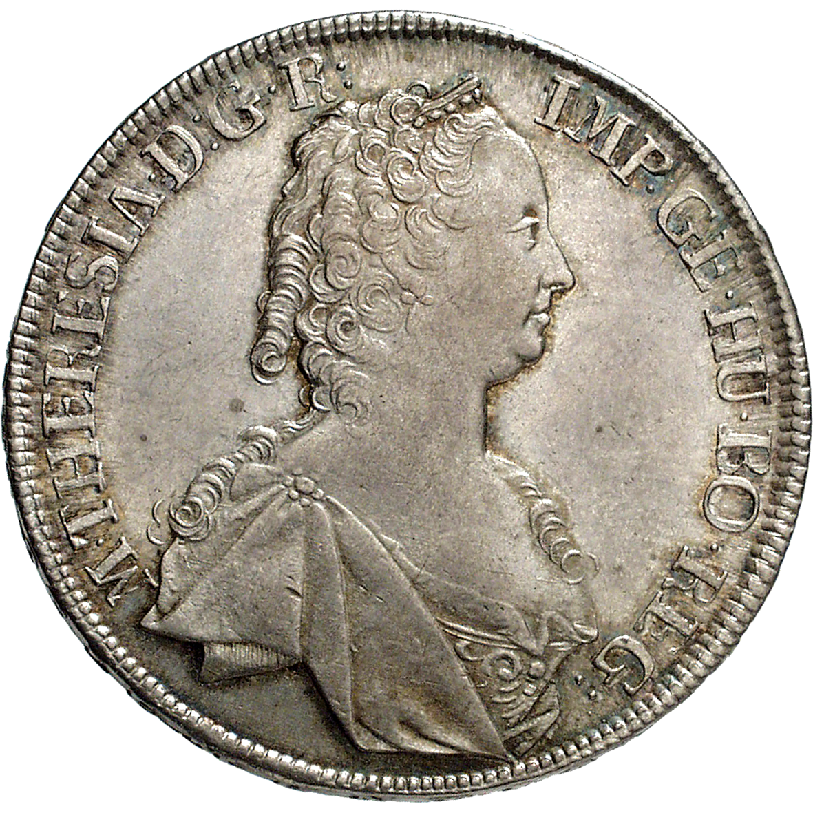 Holy Roman Empire, Archduchy of Austria, Maria Theresa, Taler 1751 (obverse)