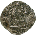 Persian Empire, Palaestine, Philisto-Arabian Lords of the Desert, Obol (obverse)