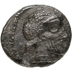 Persian Empire, Palaestine, Philisto-Arabian Lords of the Desert, Drachm (obverse)