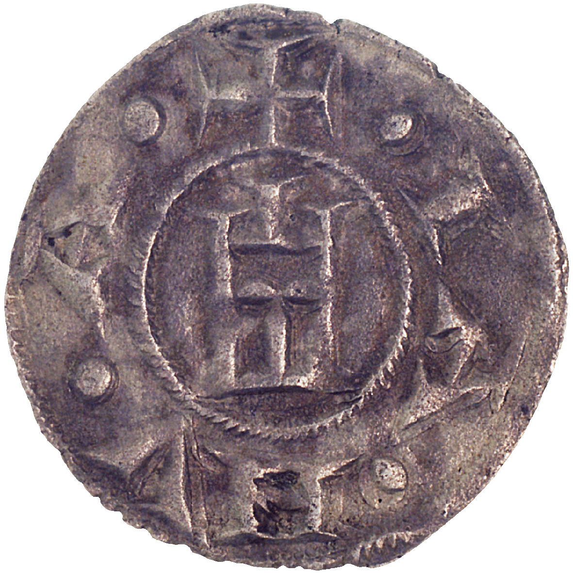 Holy Roman Empire, Republic of Genoa, Denarius (Pfennig) (reverse)