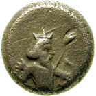 Persian Empire, Achaemenids, Darius I the Great, 1/8 Siglos (obverse)