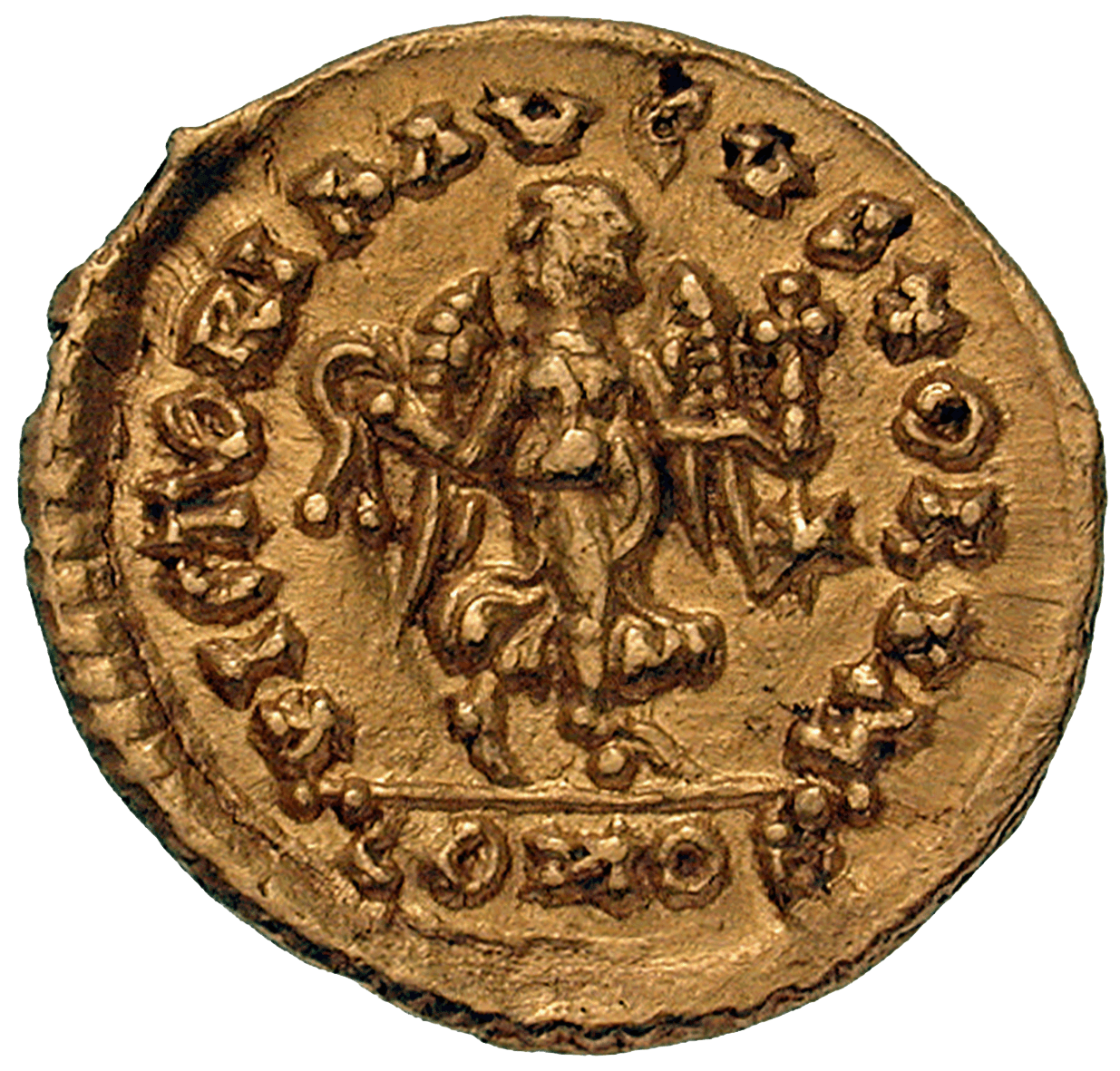 Empire of the Ostrogoths, Athalaric, Tremissis (reverse)