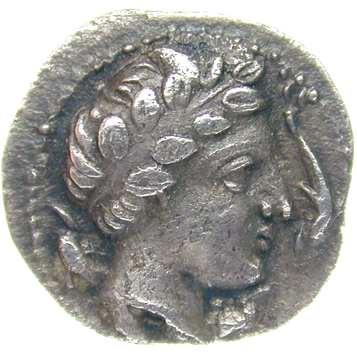 Central Italy, Allifae, Obol (obverse)