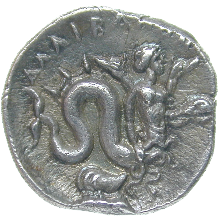 Central Italy, Allifae, Obol (reverse)