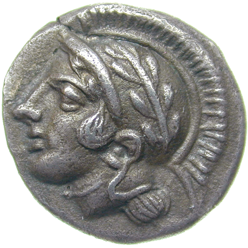 Southern Italy, Lucania, Thurii, Diobol (obverse)
