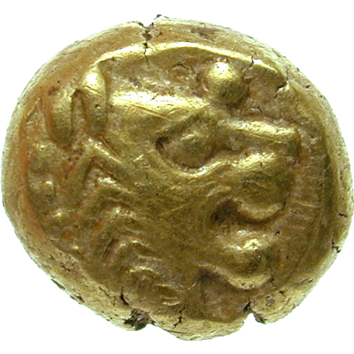 Lydia, Uncertain King, Hemihecte (obverse)