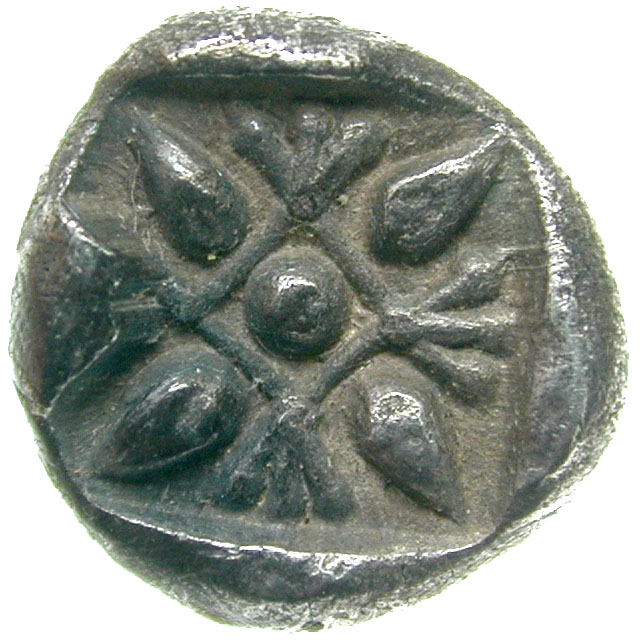 Persian Empire, Achemenids, Miletus, Obol (reverse)