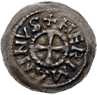 East Frankish Empire, Herman I of Swabia, Denarius (obverse)