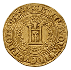Holy Roman Empire, Republic of Genoa, Genovino d'oro (obverse)