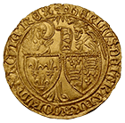 Kingdoms of England and France, Henry VI, Salut d'or (obverse)