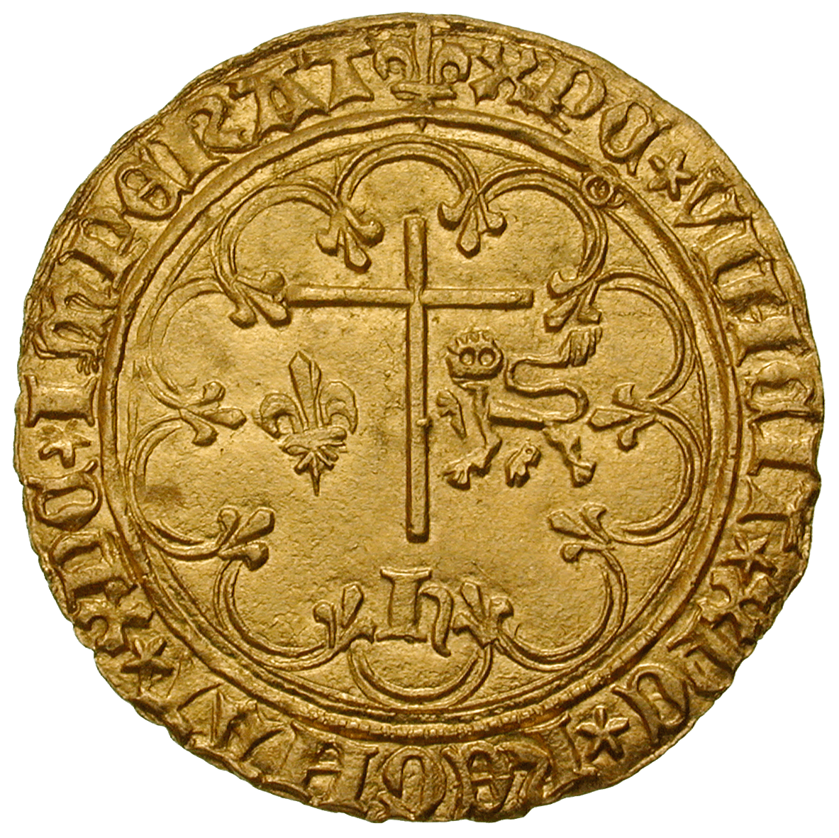 Kingdoms of England and France, Henry VI, Salut d'or (reverse)
