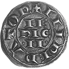 Holy Roman Empire, Frederick II of Hohenstaufen, Grosso of 6 Denarii (obverse)