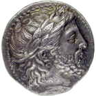 Kingdom of Macedon, Philip II, Tetradrachm (obverse)