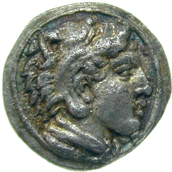 Kingdom of Macedonia, Archelaus I, Obol (obverse)