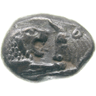 Kingdom of Lydia, Croesus, Hecte (obverse)