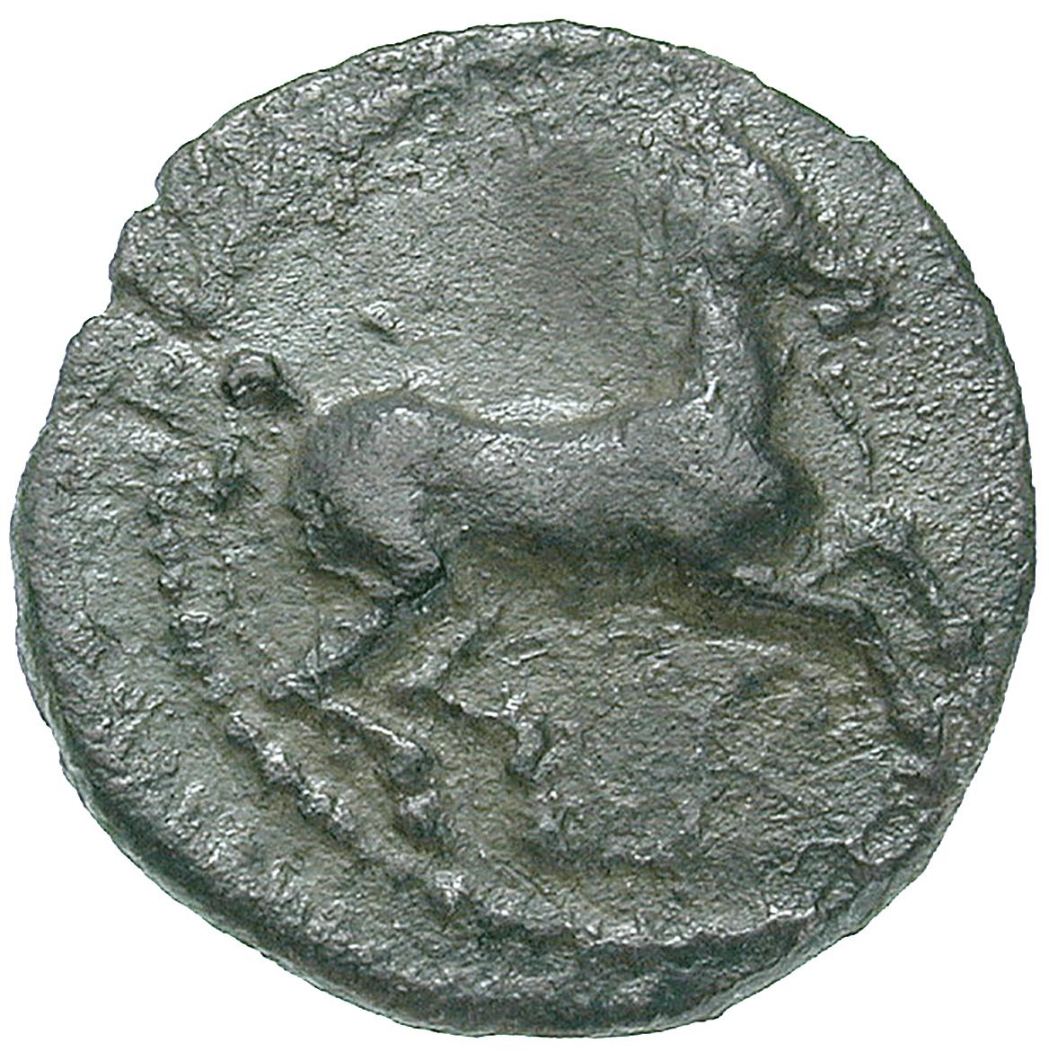 Sizilien, Sikeler, Tauromenion, Litra (obverse)