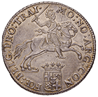 Republic of the United Netherlands, Province of Utrecht, Ducaton of the Silver Rider 1764 (obverse)
