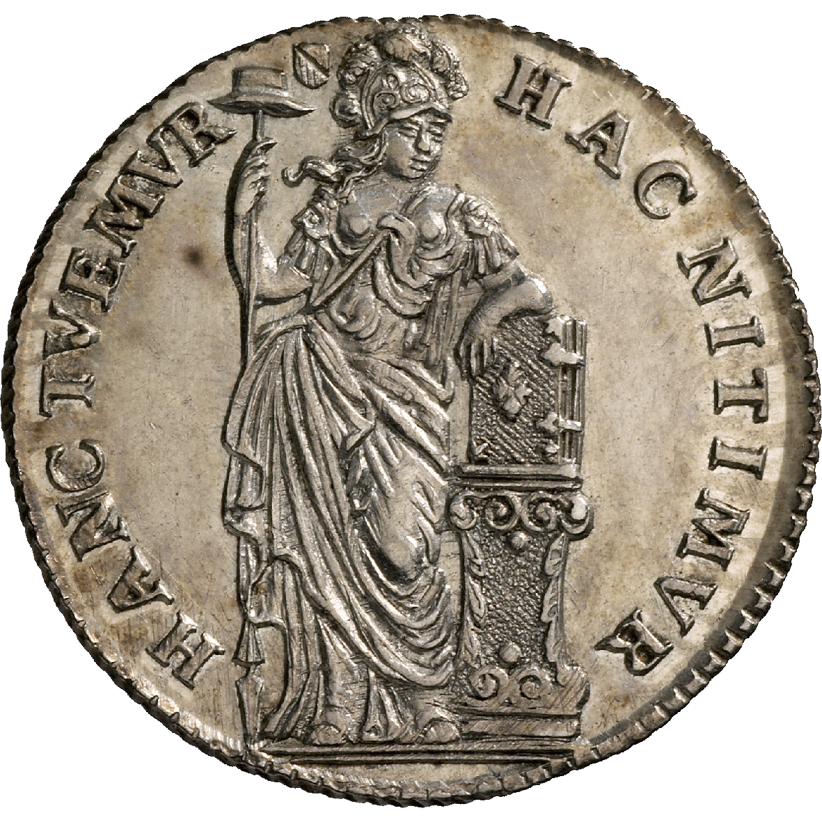 Republic of the United Netherlands, Province of Utrecht, 10 Stuivers 1750 (obverse)
