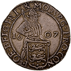 Netherlands, Province of Friesland, Shilling at 20 Groot 1607 (obverse)