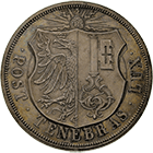 Canton and Republic of Geneva, 10 Francs 1848 (obverse)