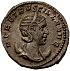 Roman Empire, Traianus Decius for his Wife Herennia Etruscilla, Antoninian (obverse)