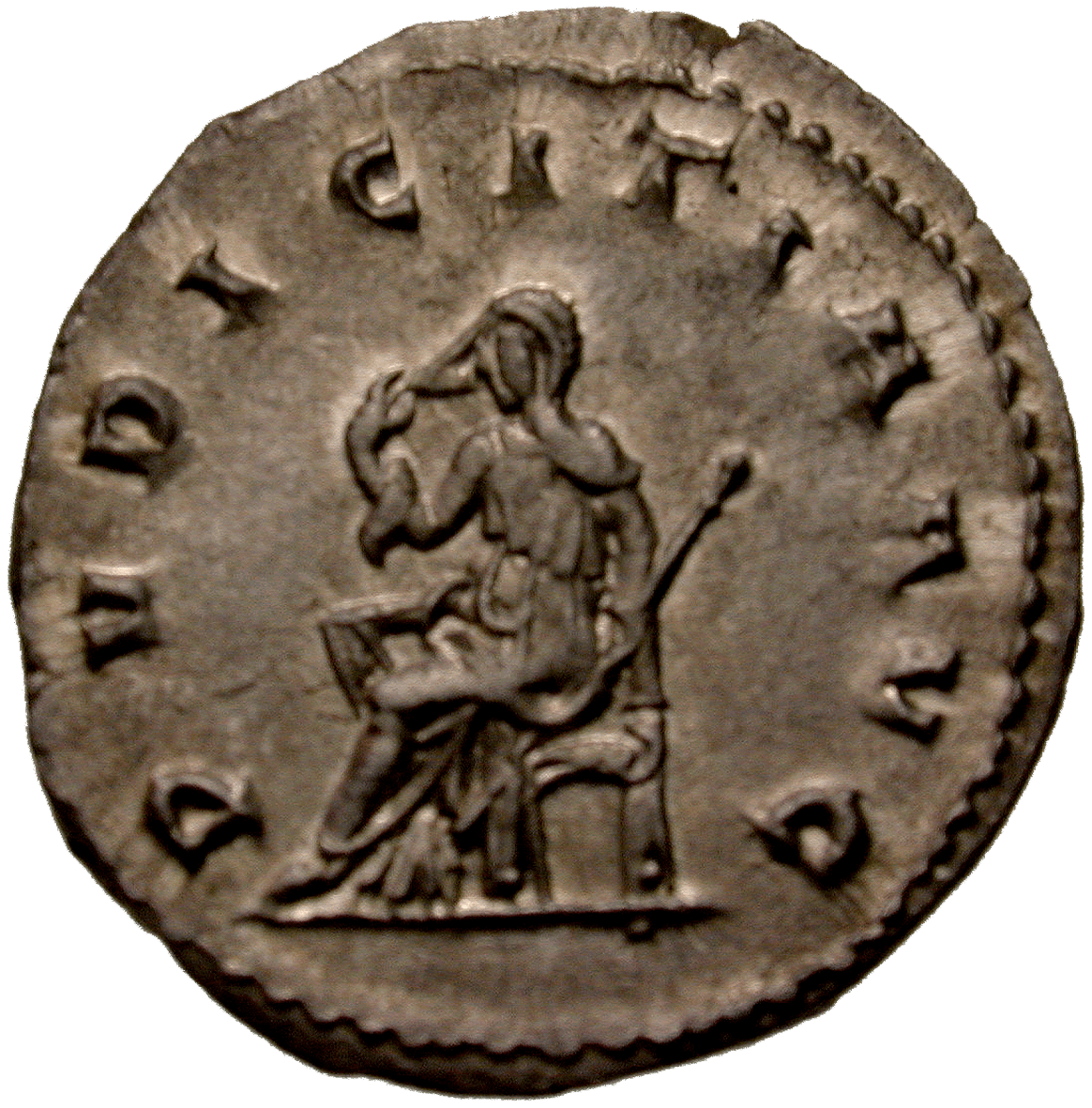 Roman Empire, Traianus Decius for his Wife Herennia Etruscilla, Antoninian (reverse)