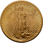 United States of America, 20 Dollar 1908 (obverse)