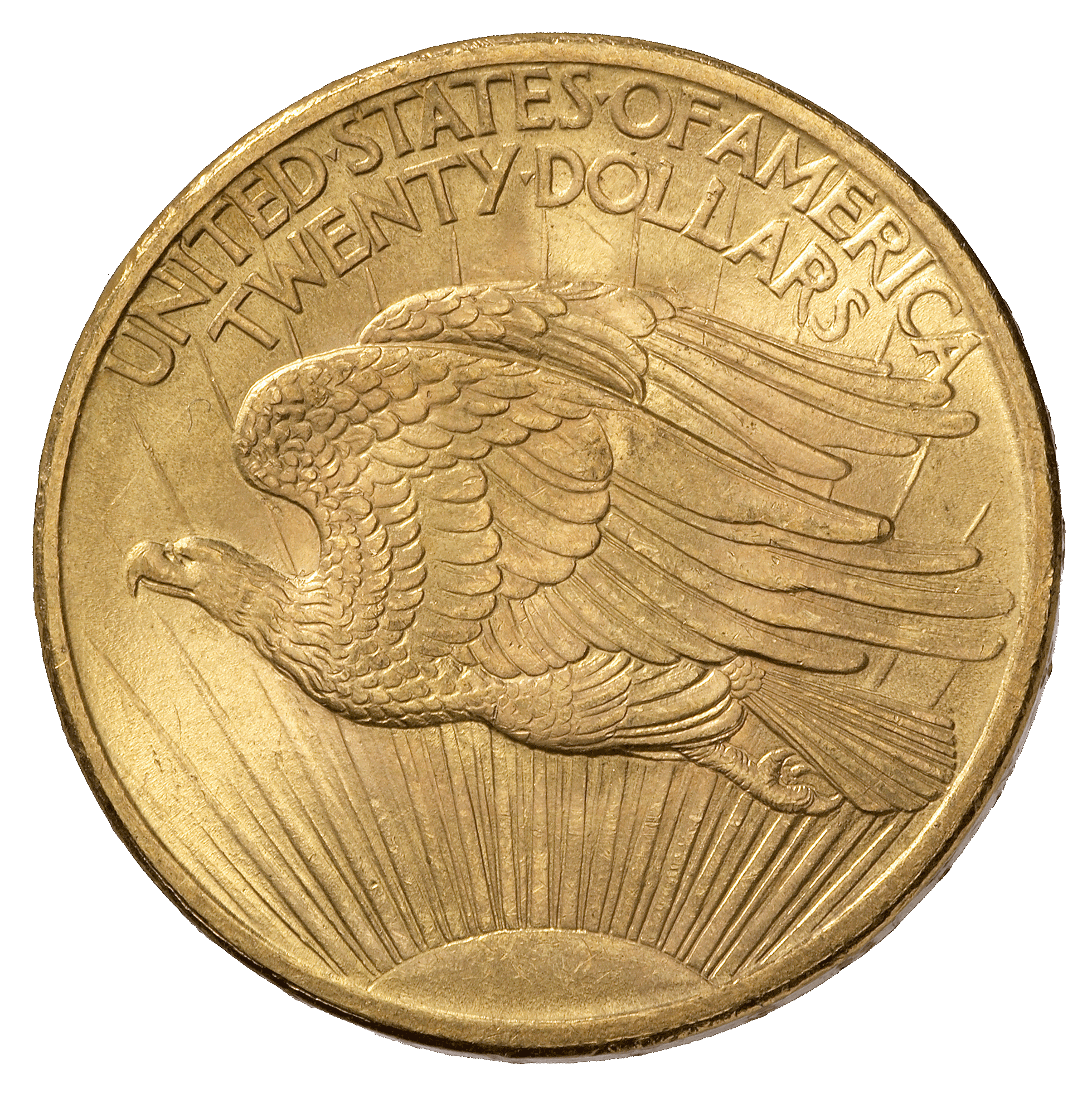 United States of America, 20 Dollar 1908 (reverse)