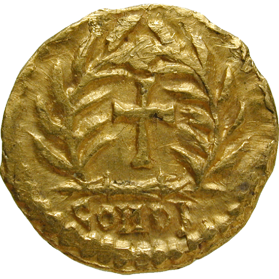 Germanic Tribe in Italy, Odoacer in the Name of Zeno, Tremissis (reverse)
