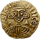 Kingdom of the Lombards, Duchy of Benevento, Sico I, Solidus (obverse)