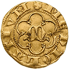 Holy Roman Empire, Republic of Milan, Half Ambrosino d'oro (obverse)