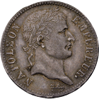 French Empire, Napoleon I, 1 Franc 1810 (obverse)