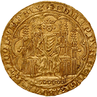 Kingdom of France, Philip VI of Valois, Chaise d'or (obverse)