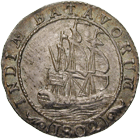 Batavian Republic for the Netherlands East Indies, 1/2 Gulden 1802 (obverse)