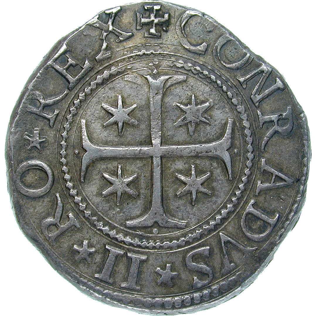 Republic of Genoa, Scudo stetto 1633 (reverse)
